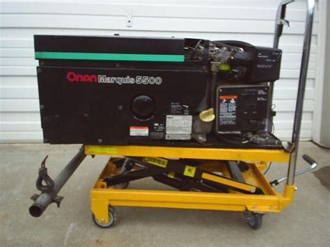 r k products used onan marquis 5500 watt rv generator