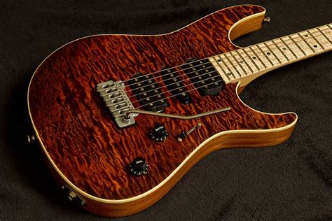 Quilted Maple Guitar by Evo Pro Quilted Maple Mahogany Williams Guitars