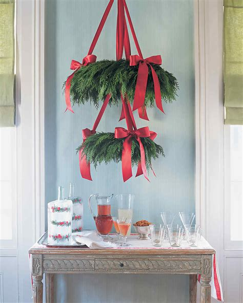 christmas ideas for home decorating quick christmas decorating ideas martha stewart