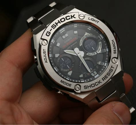 31 G Shock casio g shock g steel gsts110d 1a review ablogtowatch