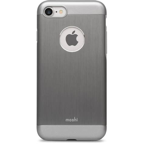 Iphone 7 B by Moshi Armour For Iphone 7 Gray 99mo088021 B H Photo