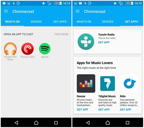 chromecast app for android chromecast audio review s caster hardware reviews androidpit