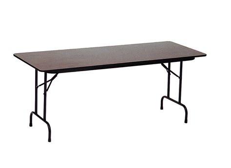 3 folding table high pressure laminate top folding table 24 quot x 48 quot 3 4