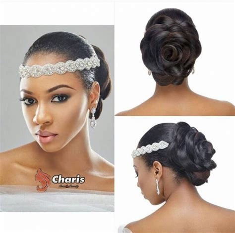 Hair Style In Nigeria by 16 Stunning Hairstyles For Brides
