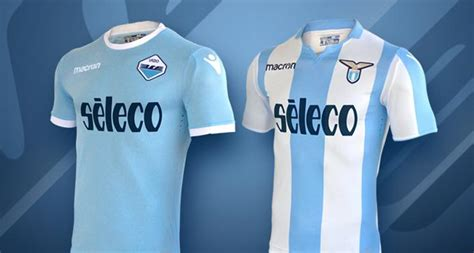 Jersey Lazio Original Home 03 04 lazio 17 18 home third europa league kits released footy headlines