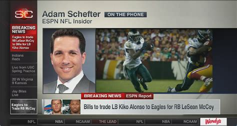 nfl pictures videos breaking news nfl on huffington post schefter weathers storm to break mccoy story from his car