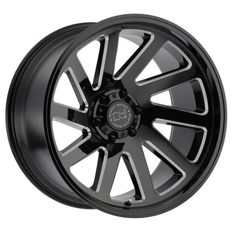 wheels truck thrust truck rims by black rhino