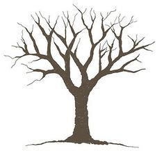 clipart tree with branches and leaves clipart panda