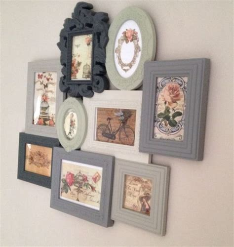 shabby chic vintage photo picture frames multi frame