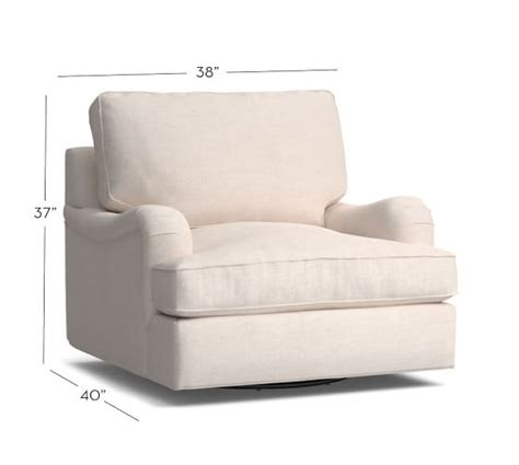 swivel armchairs upholstered pb comfort english arm upholstered swivel armchair