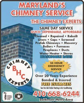 chimney experts baltimore md baltimore s heating - Chimney Inspection Baltimore