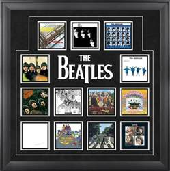 the beatles quot u k album covers quot framed presentation framed