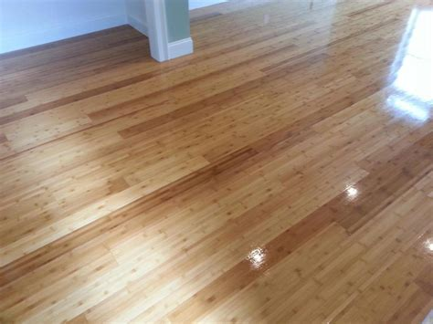 sanded refinished bamboo flooring in watertown ma