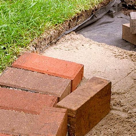 brick patio edging best 25 brick garden edging ideas on garden edging lawn edging stones and brick