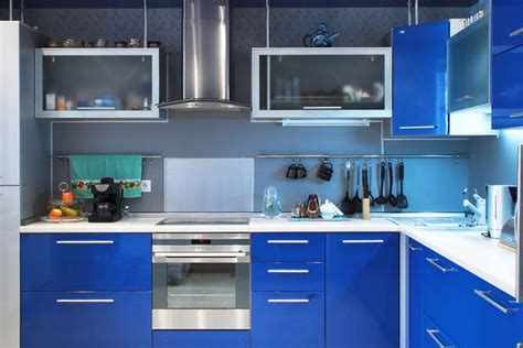 Painting Kitchen Cabinets Blue 40 Awe Inspiring Painted Kitchen Cabinets Slodive