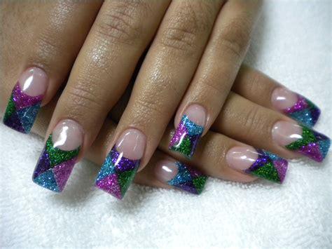 Acrylic Nails glitter nail designs acrylic nail designs