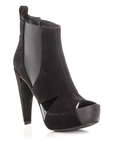 pedro garcia abbie ankle boots in black lyst