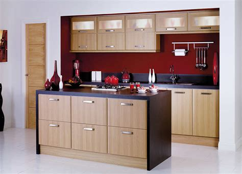 Indian Island Kitchen Designs Chocolate Brown Indian