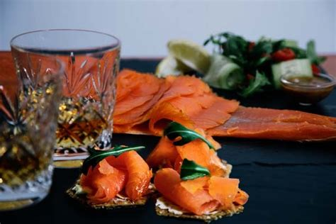 Vacuum Packed Salmon Shelf by Applecross Smokehouse Quality Smoked Produce From Applecross