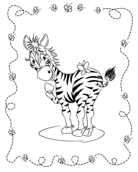 zebra coloring pages free printable baby zebra coloring pages coloring home