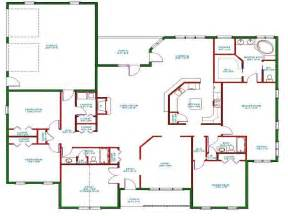 House Plans Open Concept by One Story House Plans One Story House Plans With Open