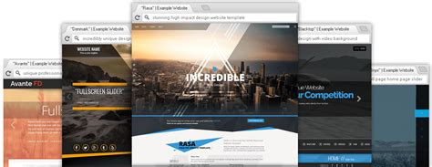 Premium Website Templates by Responsive Premium Themes Website Templates
