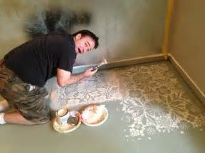 Wooden Floor Colour Ideas Painted Floors With Sloan Chalk Paint