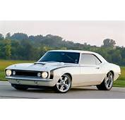 67 White Camaro Chevrolet Muscle Car Chevy HD Wallpaper