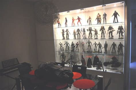 figure display cabinet amazing collections and display ideas