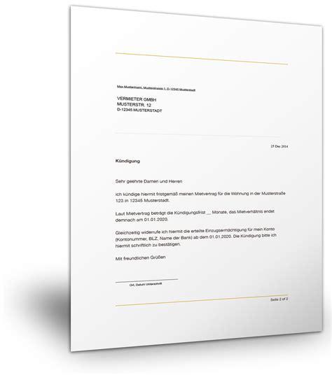 kuendigung mietvertrag nachmieter kuendigung vorlage fwptccom