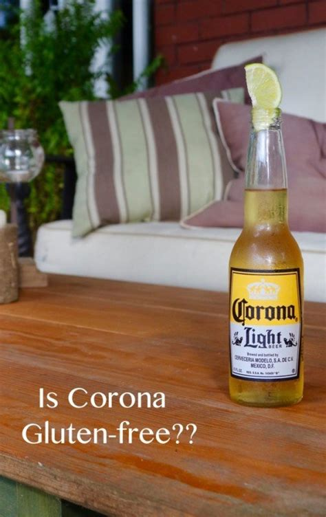 Is Corona Really A Gluten Free Beer