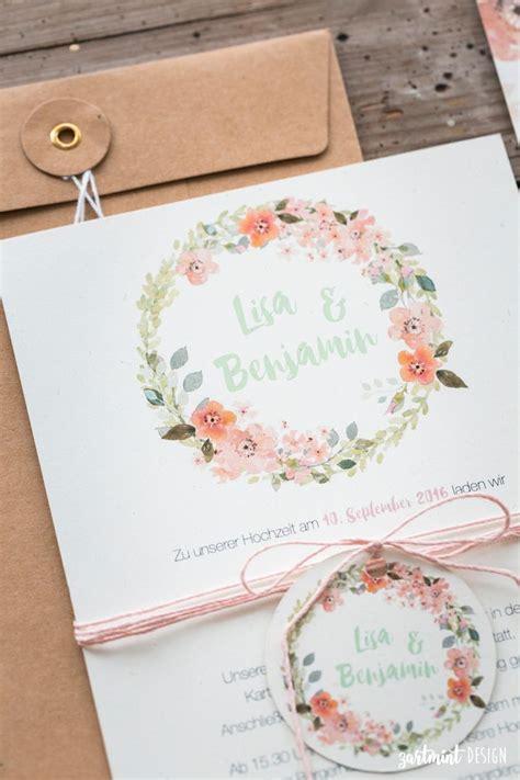 Hochzeitskarten Apricot by Die Besten 17 Ideen Zu Blumenkranz Auf