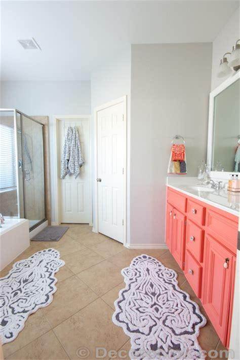 gray and coral bathroom gray and coral bathroom my web value