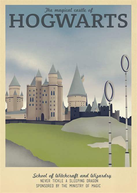 amazing travel posters  game  thrones harry