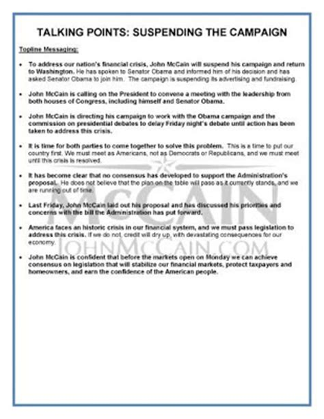 talking points template rising hegemon september 2008