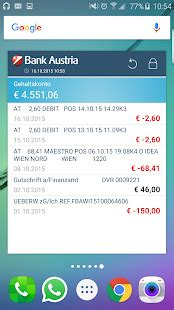 bank austria mobile banking app bank austria mobilebanking android apps on play