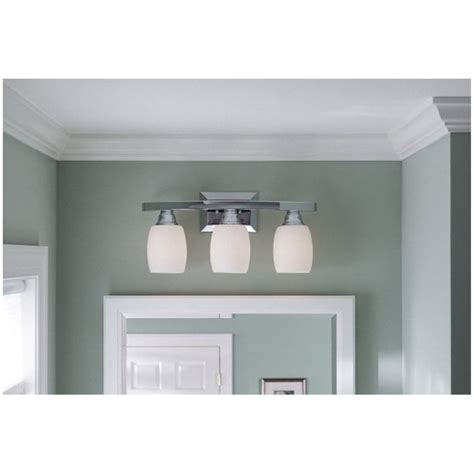 Bathroom Vanity Lights Canada Allen Roth 3 Light Chrome Bathroom Vanity Light Lowe S Canada House Ideas Pinterest