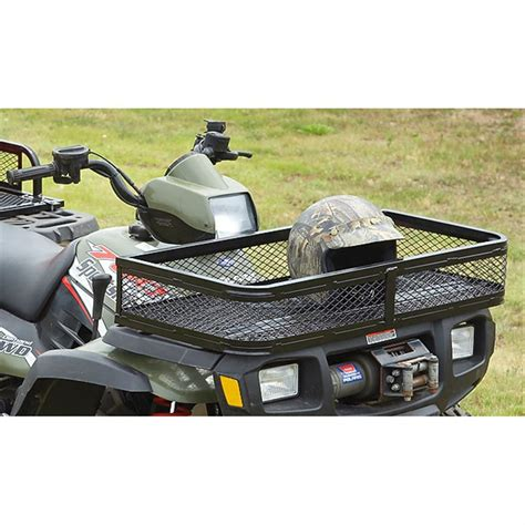 guide gear atv front basket 206503 racks bags at