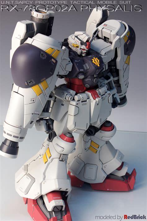 Mg Gundam Gp02a 模型 プラモデル投稿コミュニティ mg モデラーズギャラリー ガンプラ afv ジオラマ mg ガンダムgp02a