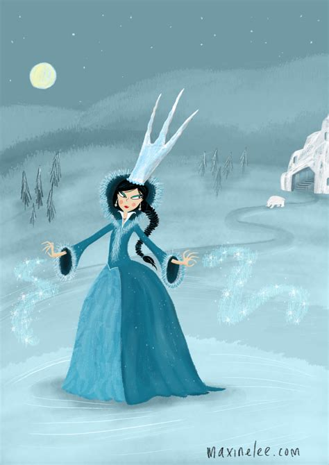 the snow queen a the snow queen maxine lee