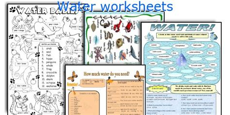 Save Water Worksheets For Kindergarten by Save Water Worksheets For Kindergarten Eco Friendly Maze