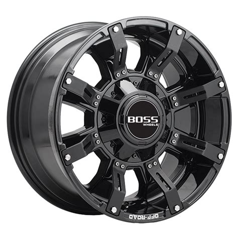 Kaos Metal No 20 kaos black 4x4 wheel wheels offroad