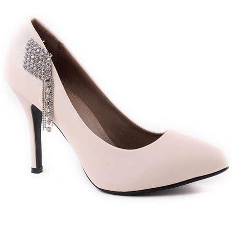 high heel rhinestone closed toes black wedding shoes