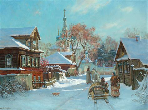 before russian christmas by korobkin anatoly