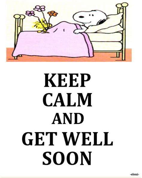 KEEP CALM AND GET WELL SOON   Keep Calm   Pinterest   Keep