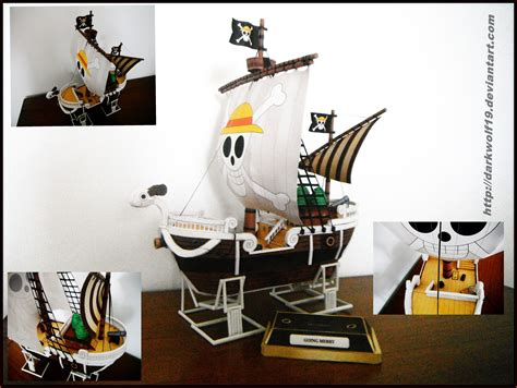 Papercraft Going Merry - going merry papercraft by darkwolf19 on deviantart