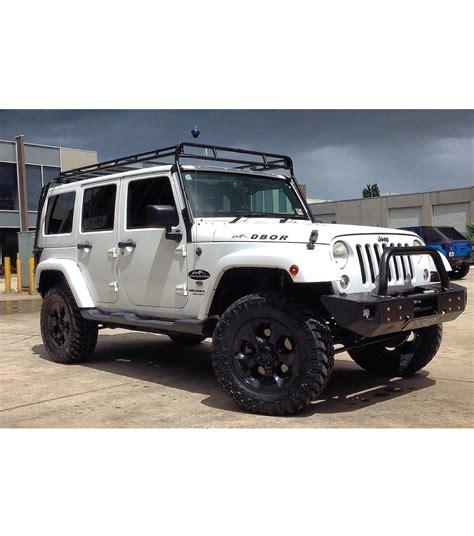 jeep jku door stealth rack multi light setup gobi racks