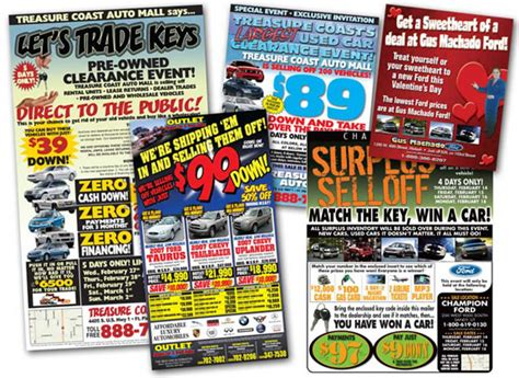 newspaper car ads the comical world of dealer internet advertising the