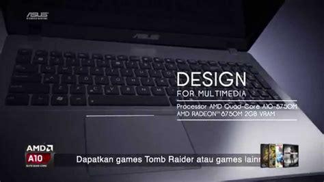 Laptop Asus X550dp Amd A10 harga laptop gaming asus x550dp dual vga segiempat