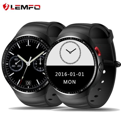 Lemfo Les 1 Android 5 1 1gb 16gb Smartwatch 2 0 Mp aliexpress buy lemfo les1 android 5 1 os smart